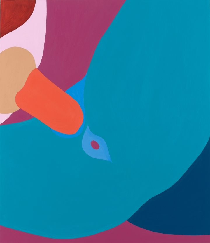 Helen Beard_Blue Valentine_2016_Oil on canvas_1500 x 1300mm_┬® Helen Beard_Courtesy Newport Street Gallery_Photo Prudence Cuming Associates